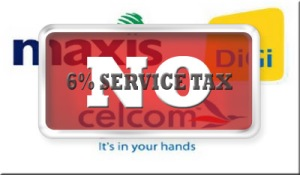 Say No 6% Service Tax